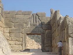 Archeologia la civita di alatri nel lazio la zona - La porta dei leoni a micene ...