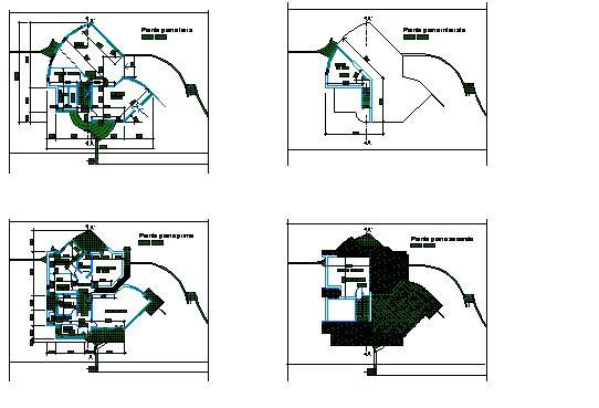 Villini pagina 2 esempio di progetto schema di pianta for Software di progettazione di edifici domestici